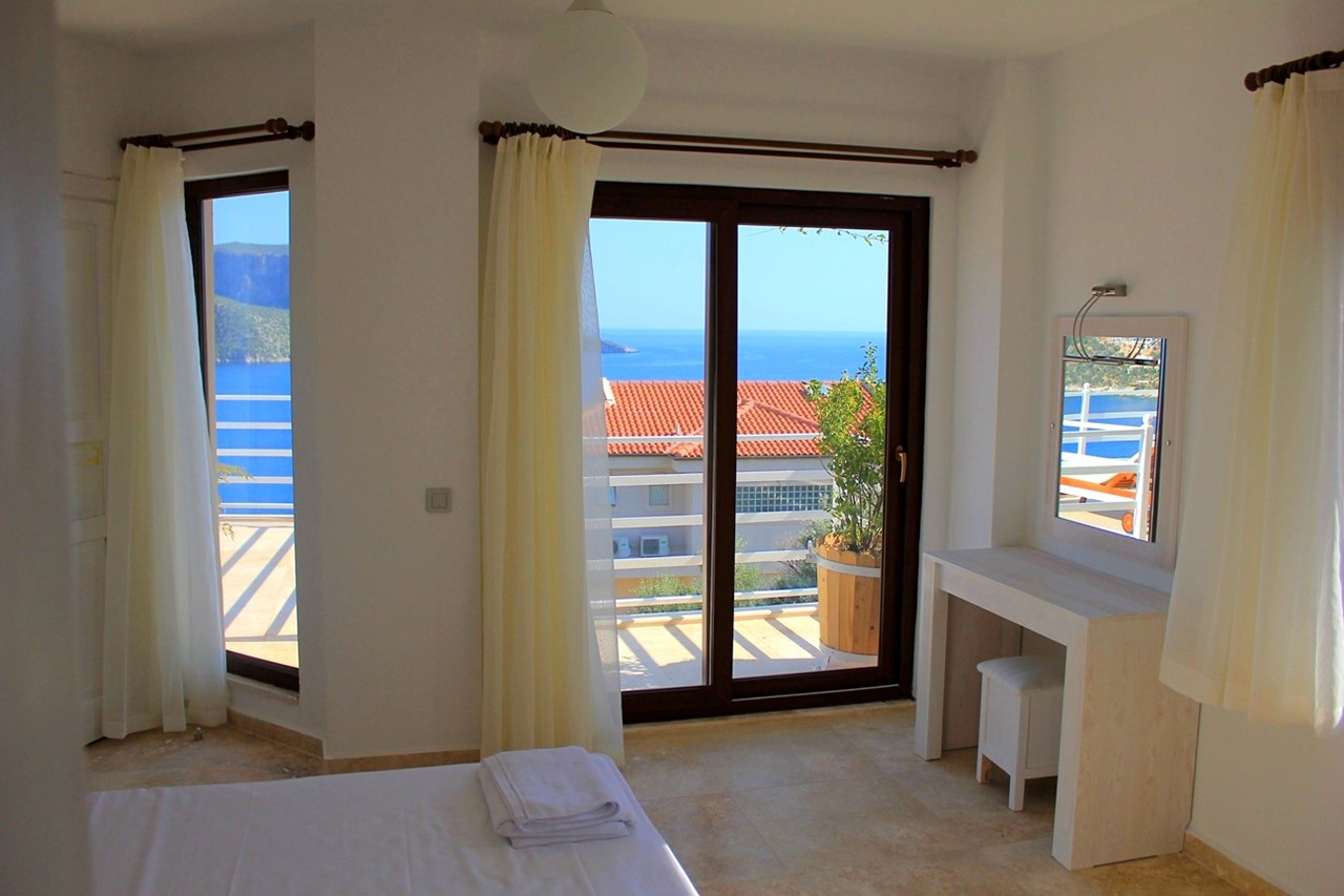 View from double bedroom