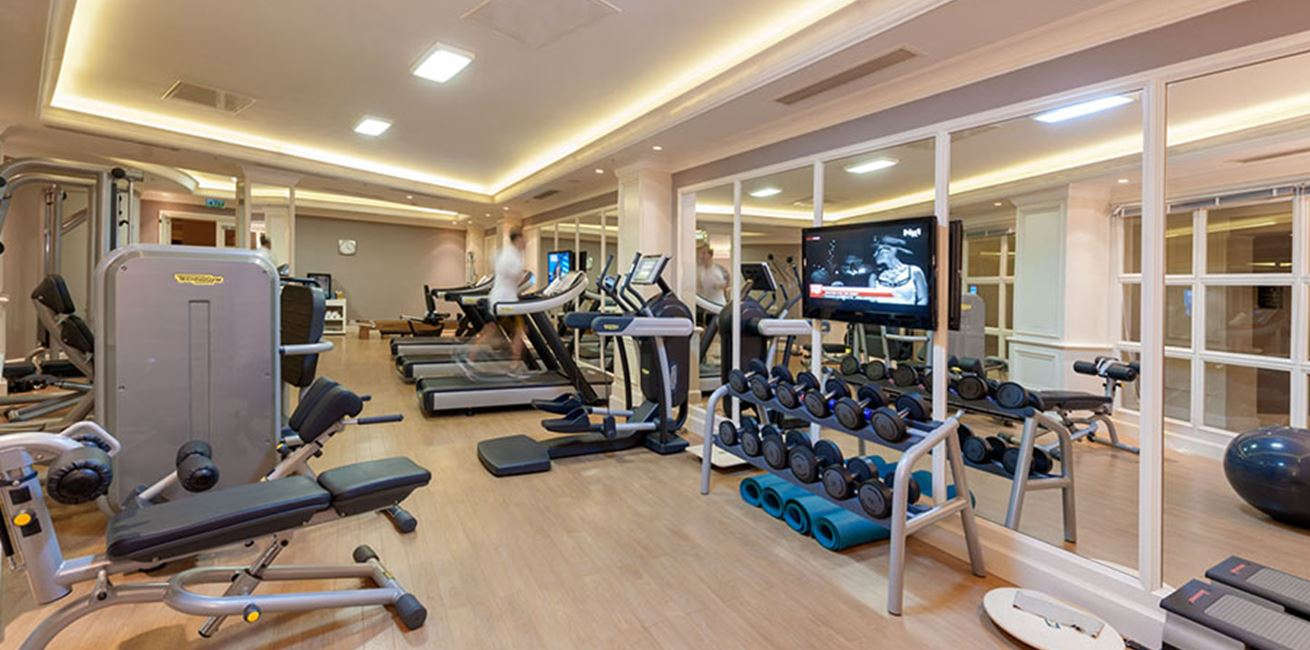 Rixos Pera Fitness Room