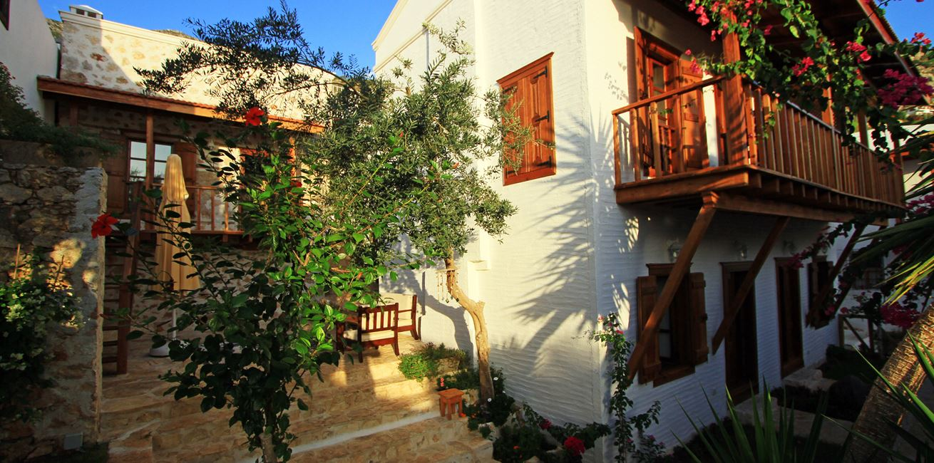 Book B B At The Charming Courtyard In Kalkan S Old Town