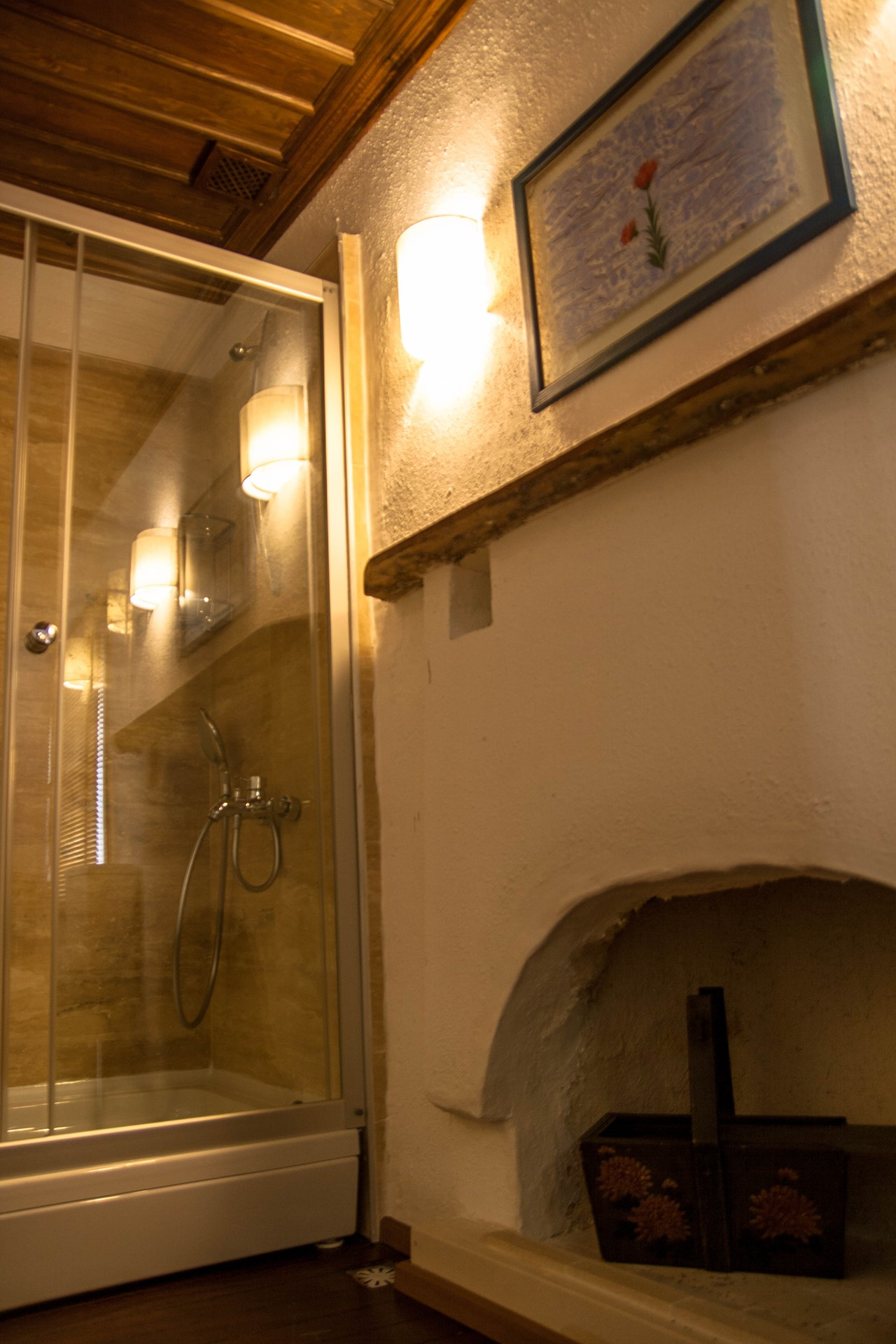 Contemporary bathrooms with character