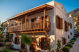 The Courtyard Hotel in Kalkan