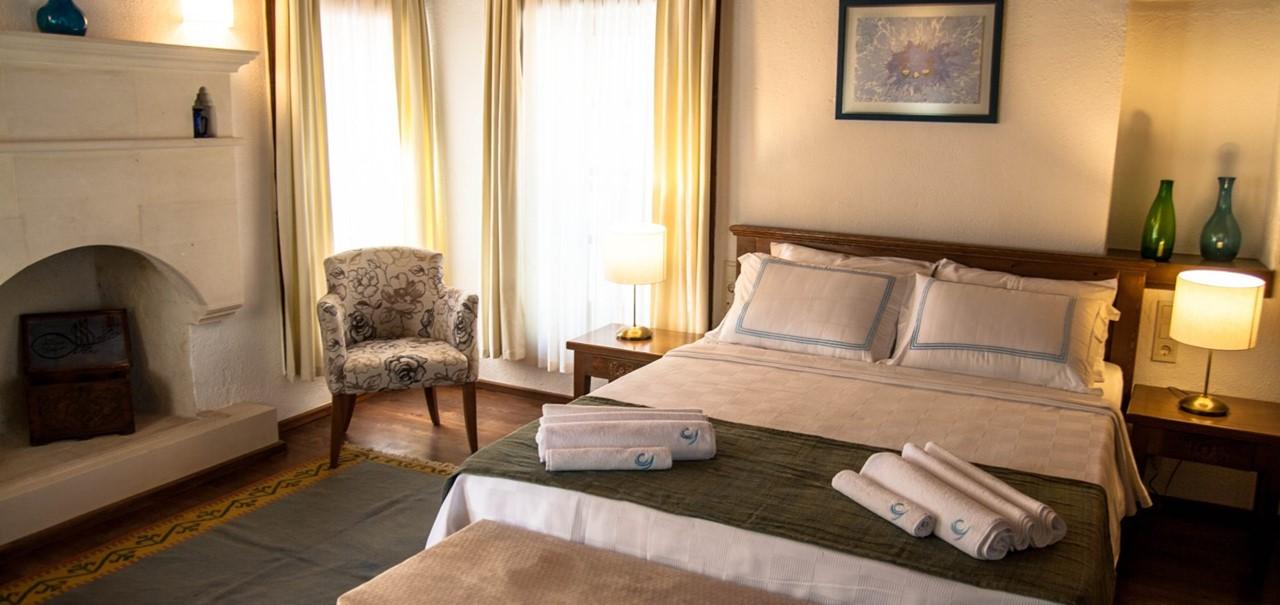 Beautifully furnished Courtyard Hotel Kalkan
