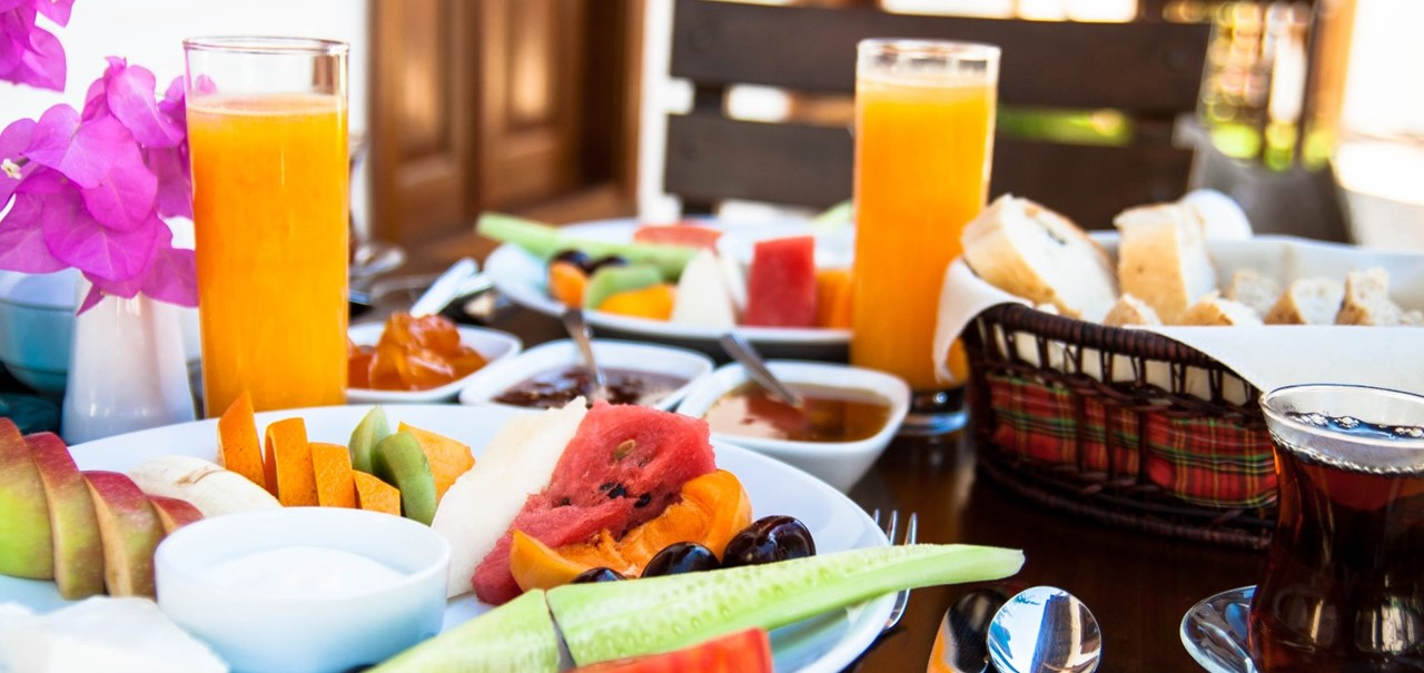 Breakfast is included in our weekly rates
