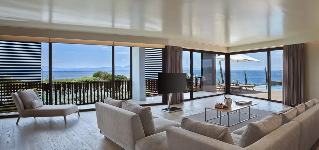 Kaplankaya Suite With Pool Living Room 7587 A4