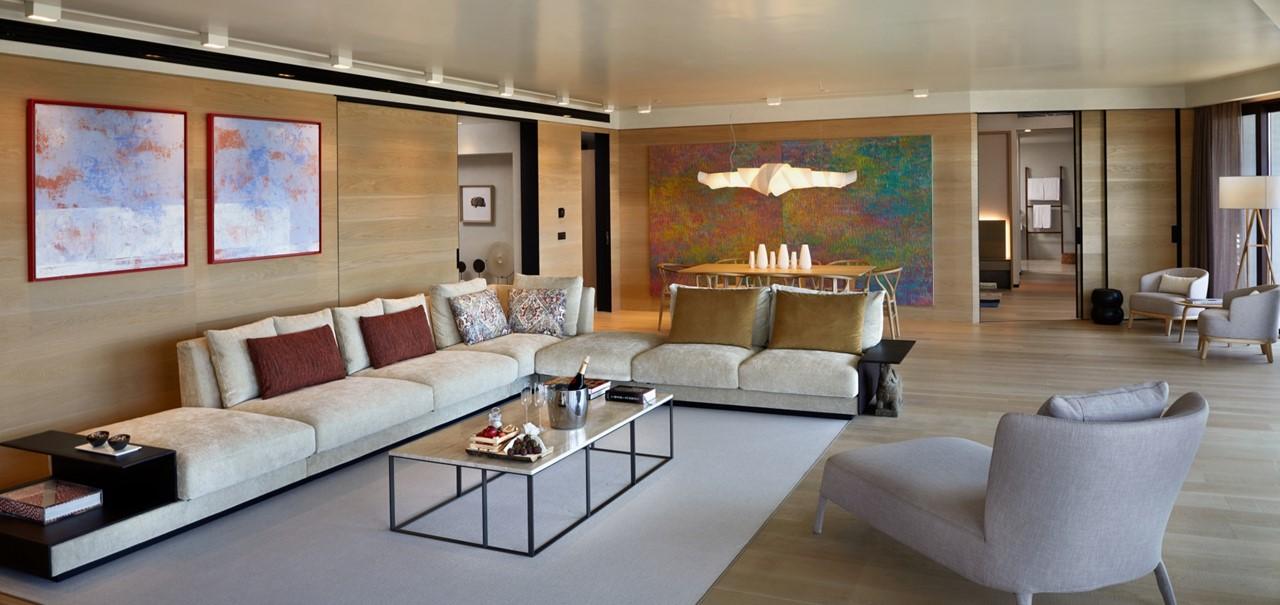 Kaplankaya Suite With Pool Living Room2 7588 A4