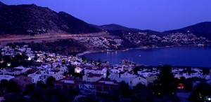 Kalkan bay at dusk