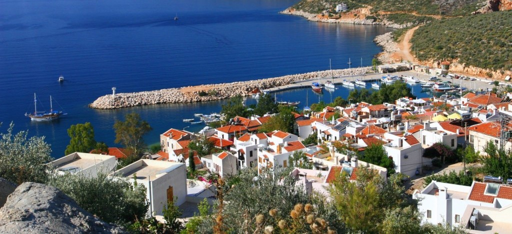 Kalkan's beautiful harbour