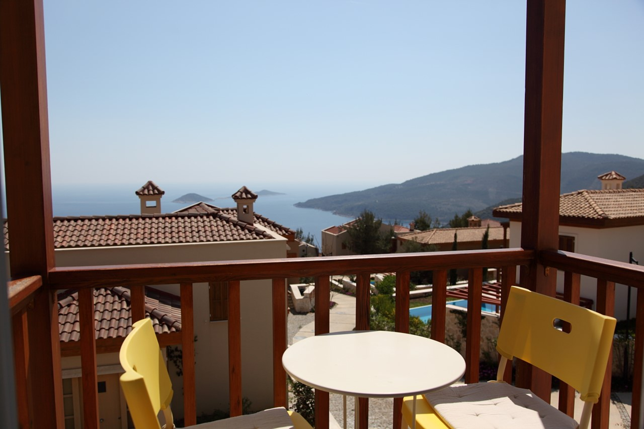 Enjoy fantastic sea views from your balcony