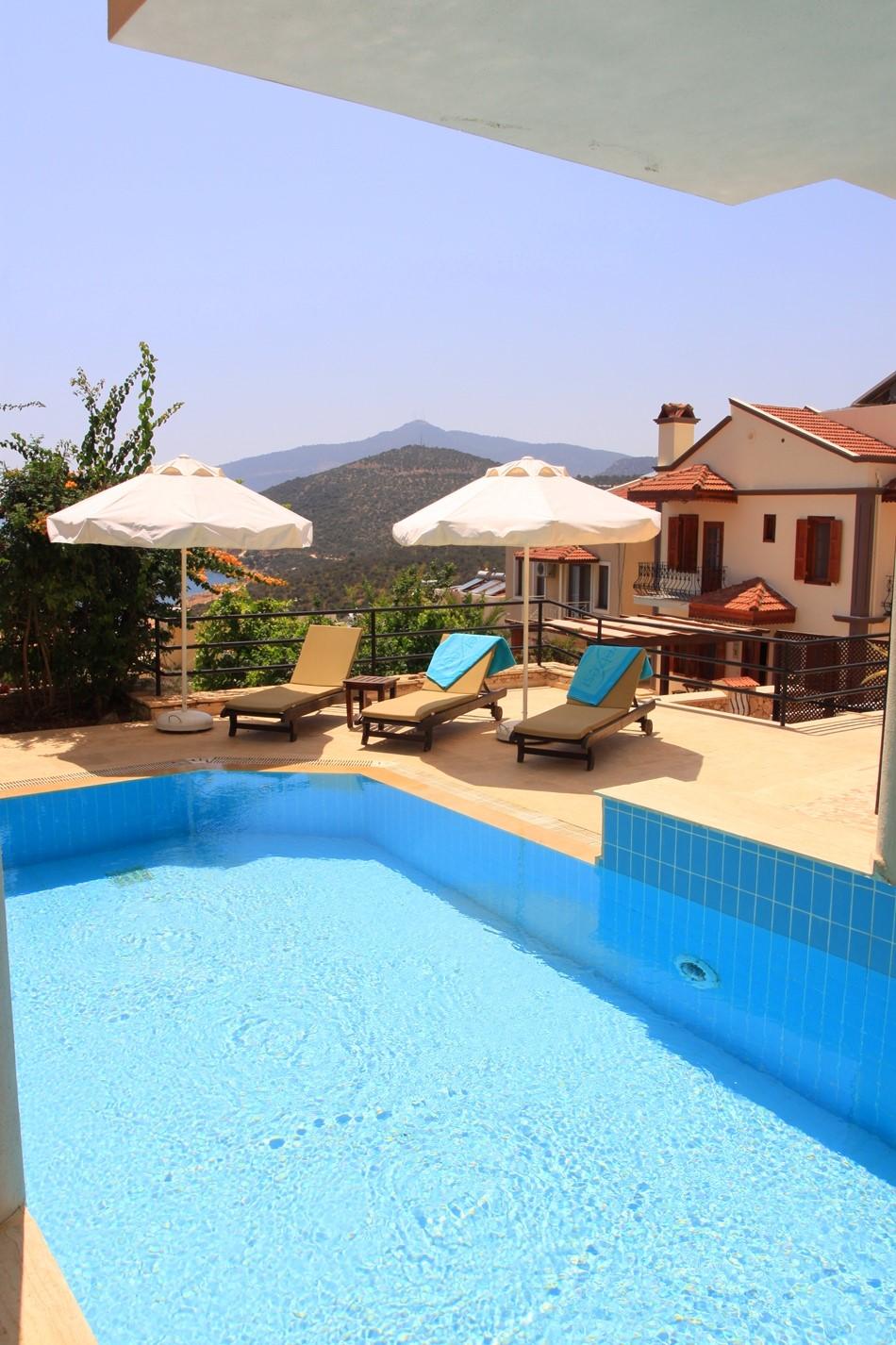 Private pool at Villa Badem