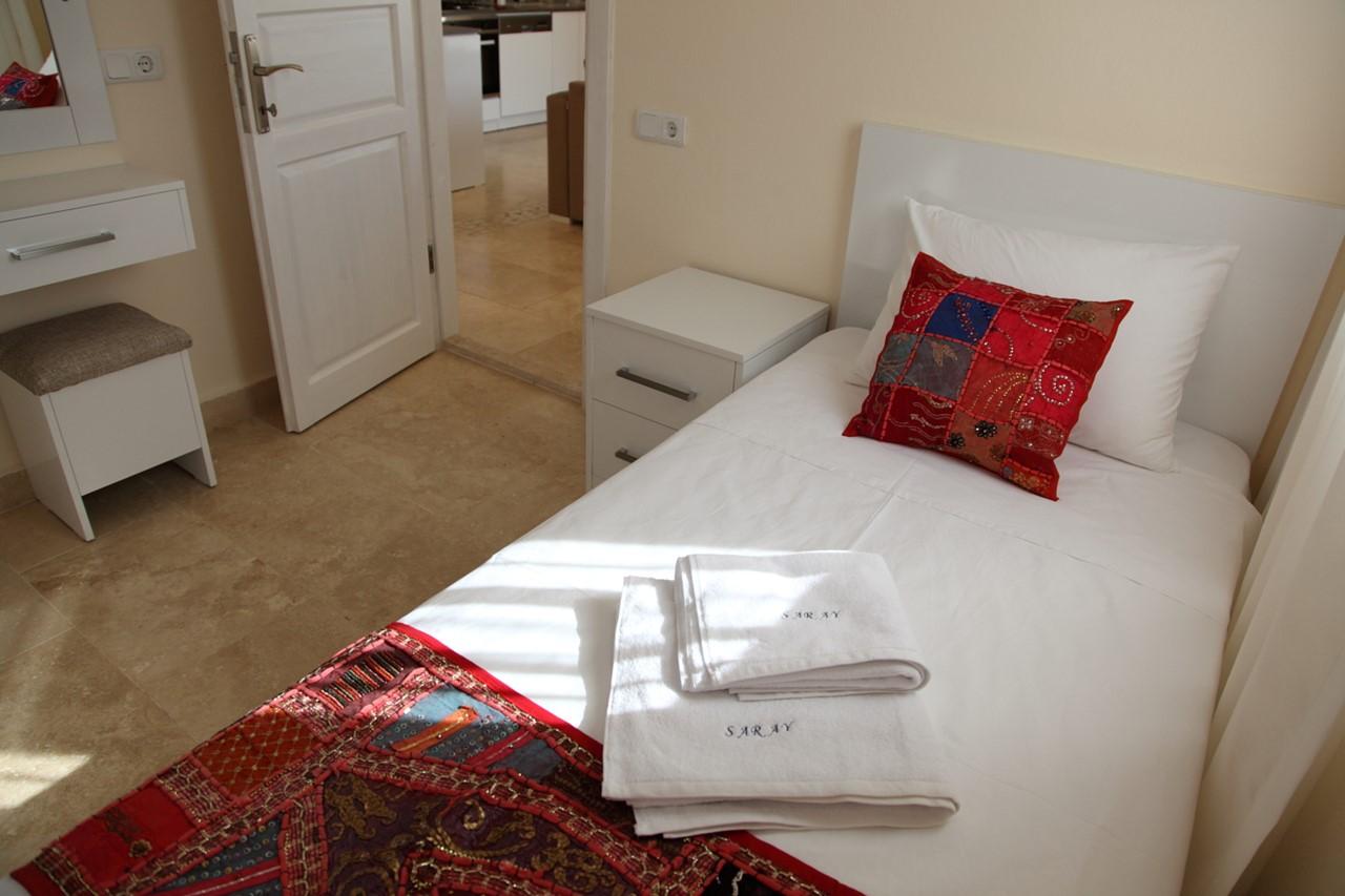 Single bedroom at Apartment Saray