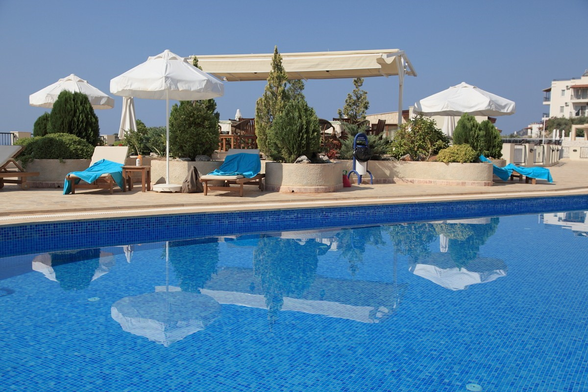 Elvina swimming pool and terrace
