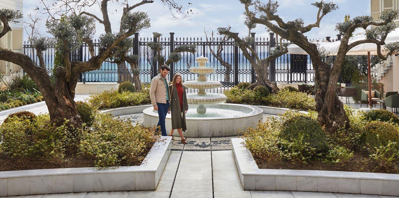 Sait Pasa Mansion Courtyard 3 9091 ORIGINAL