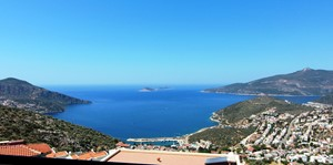 View from Kiziltas overlooking Kalkan