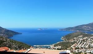 View from Kiziltas overlooking Kalkan
