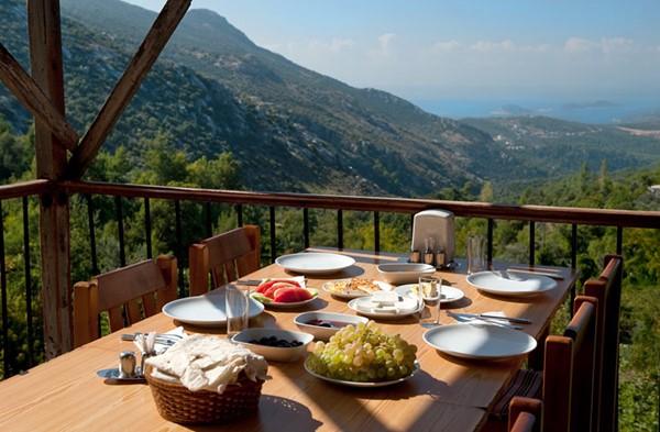 Fantastic views from Islamlar restaurants