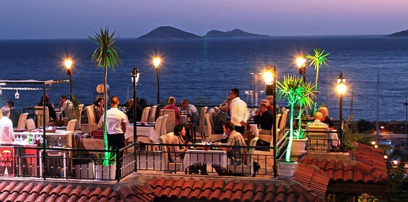 Kalkan Restaurants Experience The Famous Open Roof
