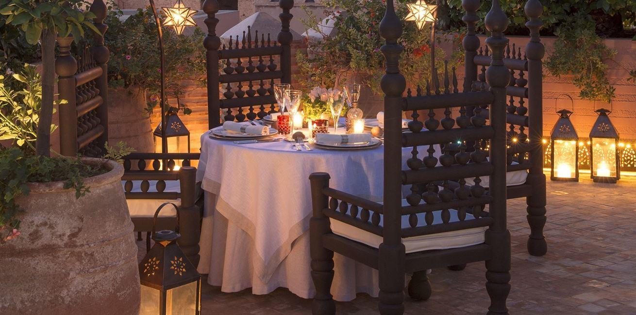 La Sultana Marrakech Diner 2 H2