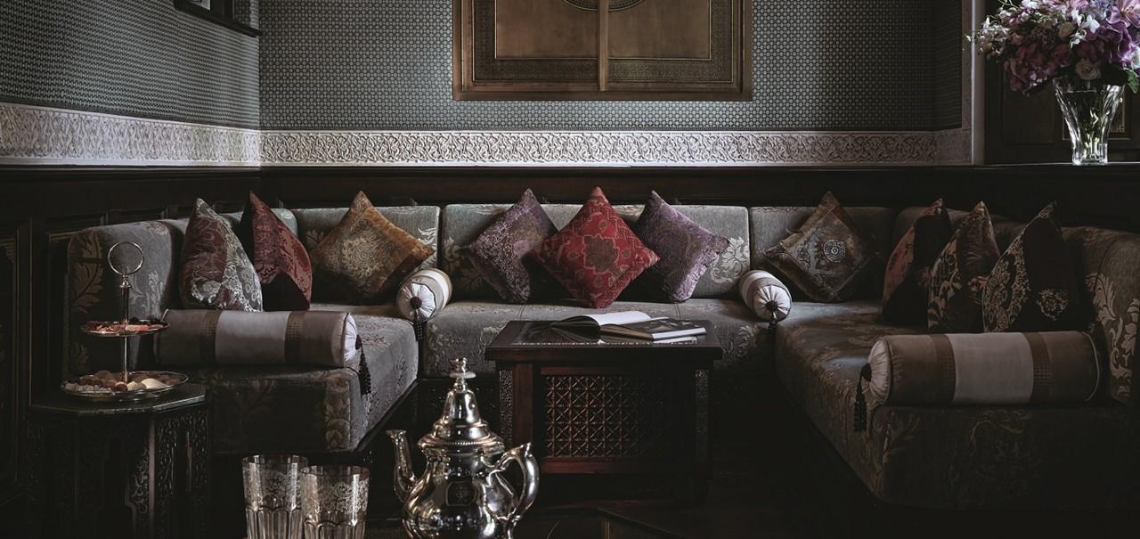 Royal Mansour Privilege Livingroom