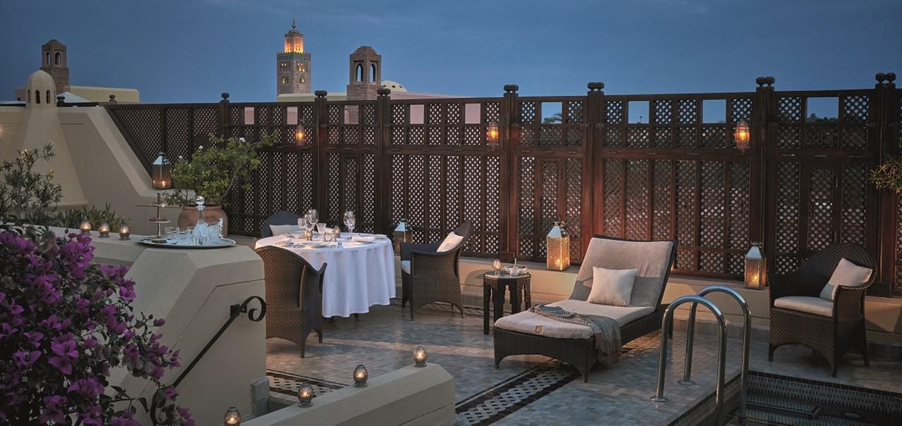 Royalmansour Terrace Riad Privilege