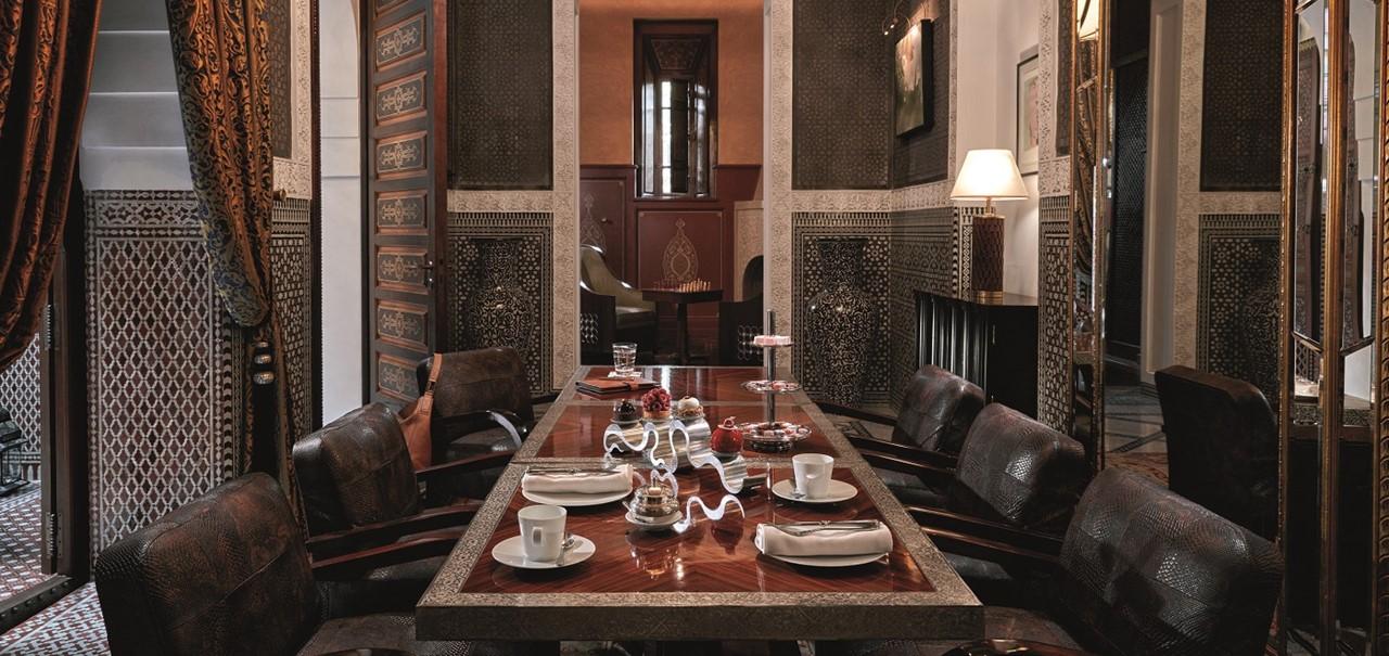 Riad Prestige Dining Room
