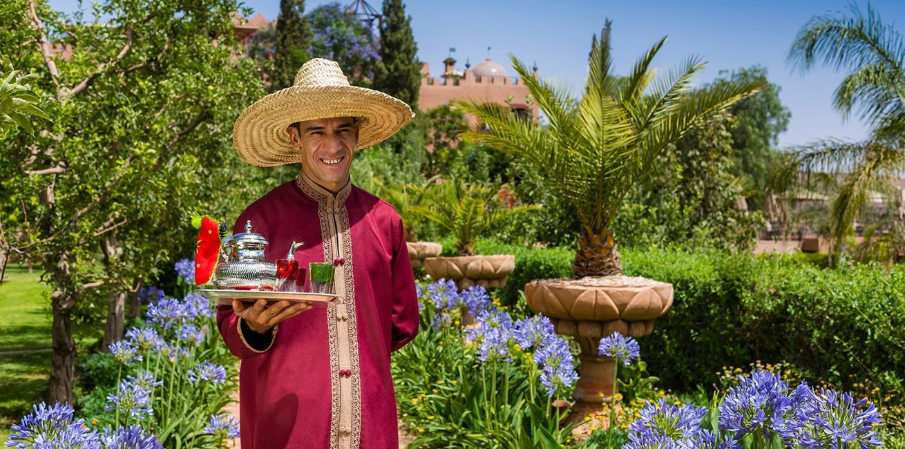 18 Kasbah Tamadot Moroccan Tea