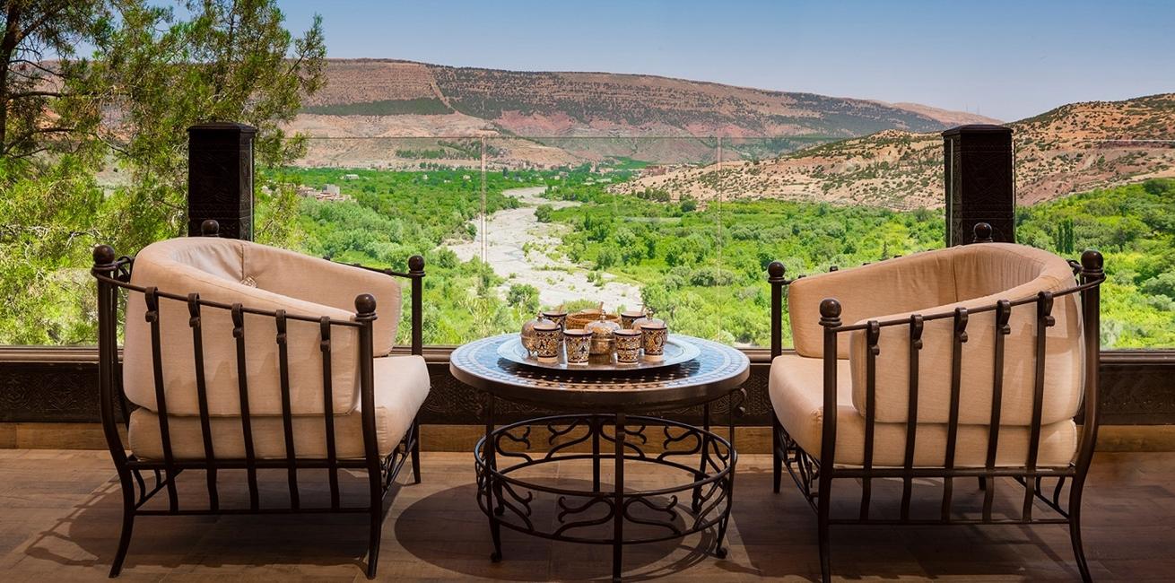 23 Kasbah Tamadot Asmoun Lounge Terrace