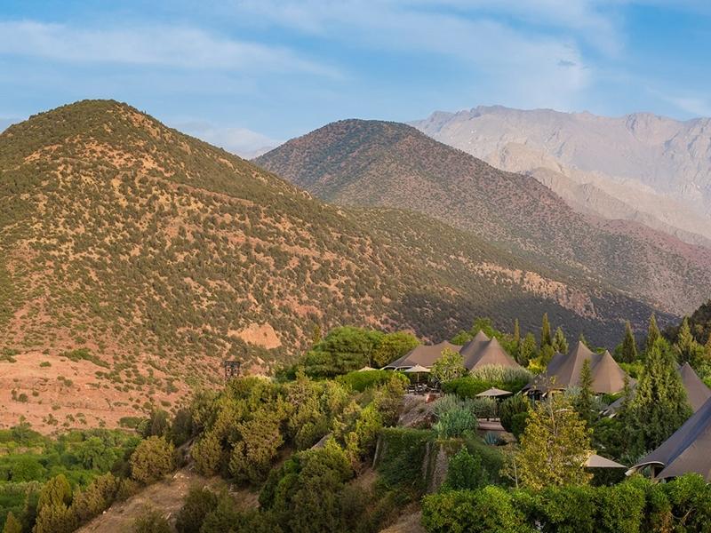 24 Kasbah Tamadot Berber Tents Exteriors