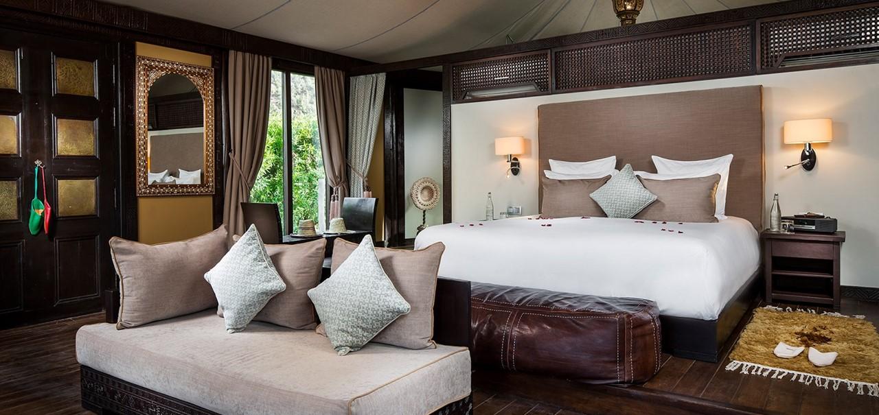 25 Kasbah Tamadot Berber Tent 58 Bedroom