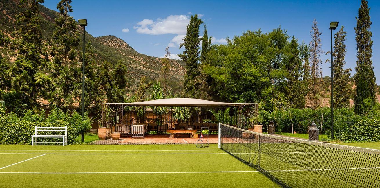 30 Kasbah Tamadot Tennis Court Pavillion