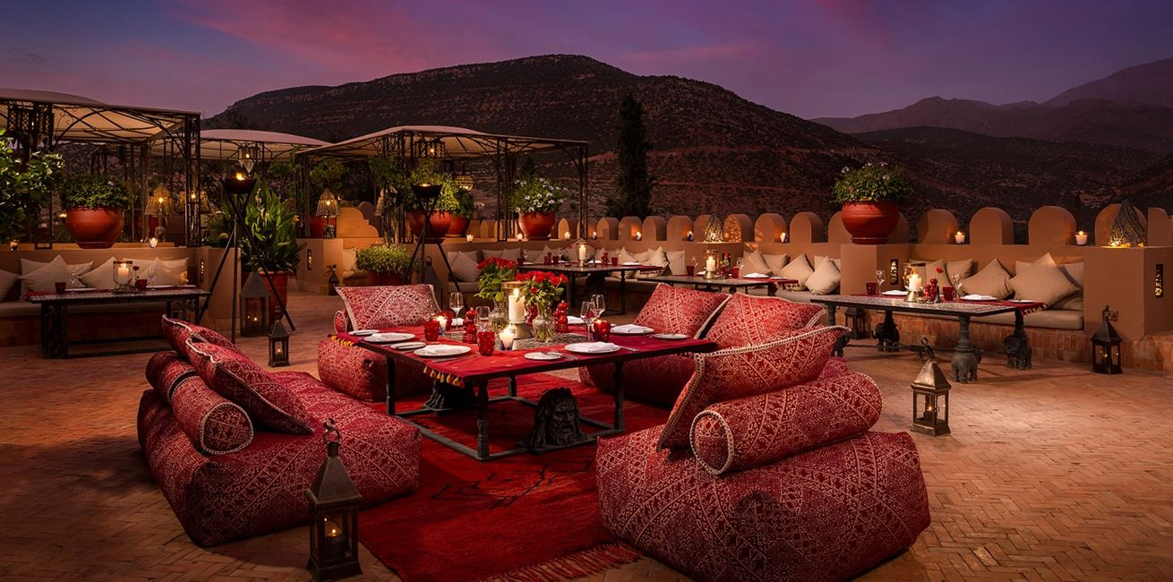 31 Kasbah Tamadot Roof Terrace Private Dining