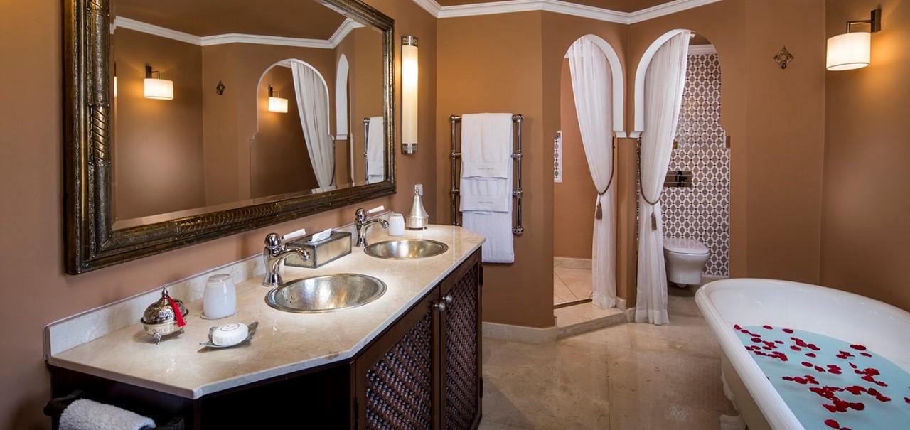 33 Deluxe Suite Bathroom Kasbah Tamadot