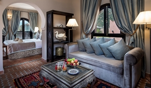 34 Deluxe Suite Lounge Kasbah Tamadot