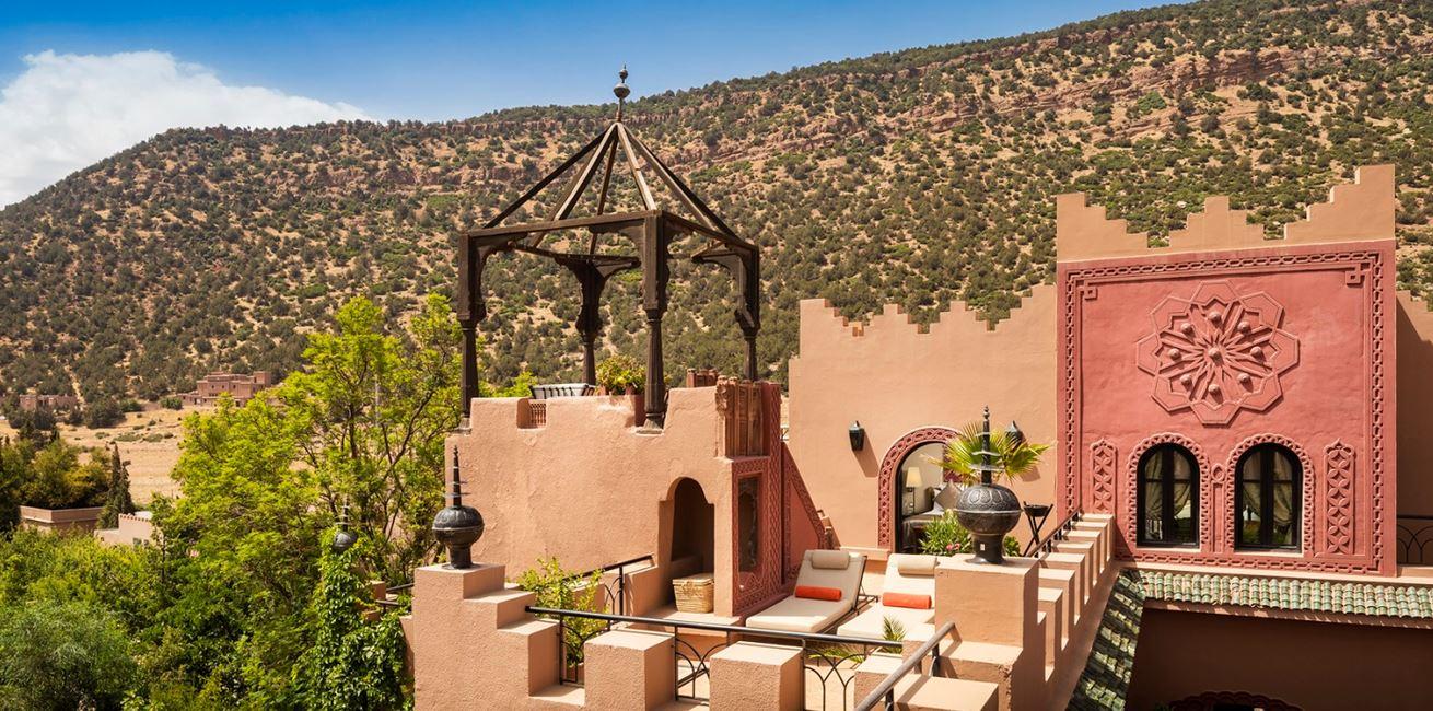 34 Deluxe Suite Terrace Kasbah Tamadot