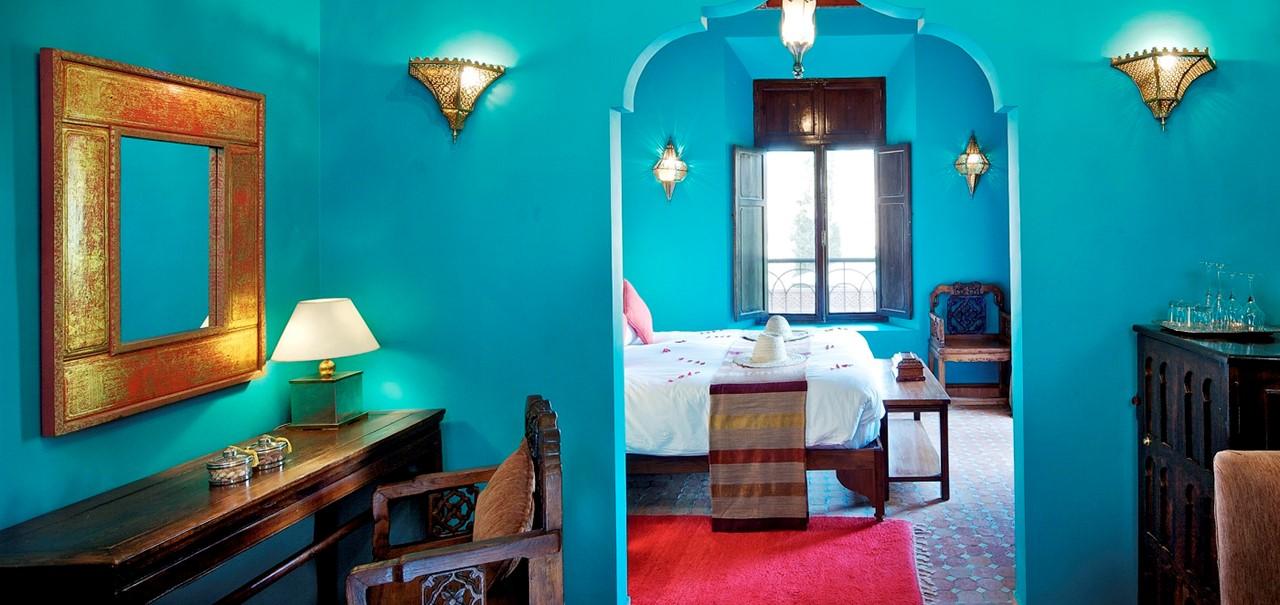 Kasbah Tamadot Deluxe Room