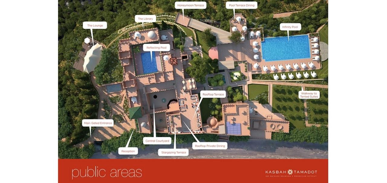 Plan Public Area