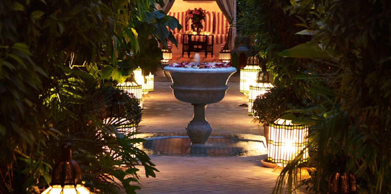 LHOTEL MARRAKECH Garden 02