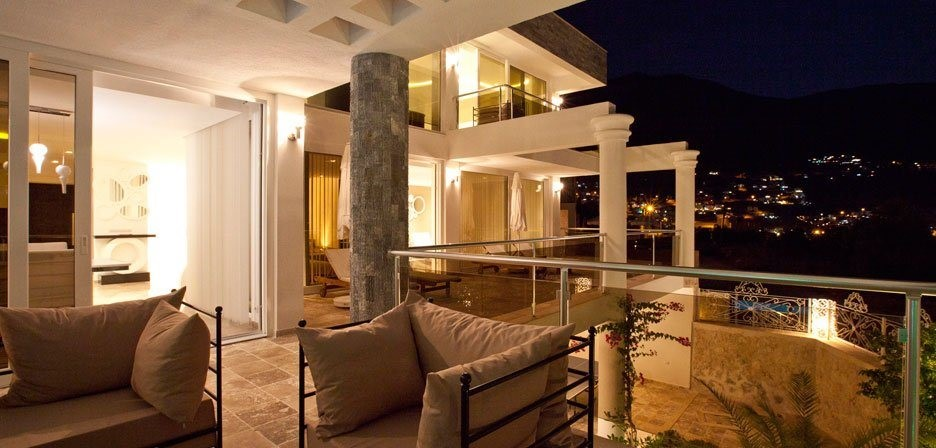 The Ada Villas sleep up to 8 guests