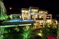 Ada villa 1 with a private gym and sauna