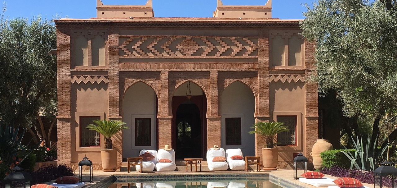 Riad And Pool View