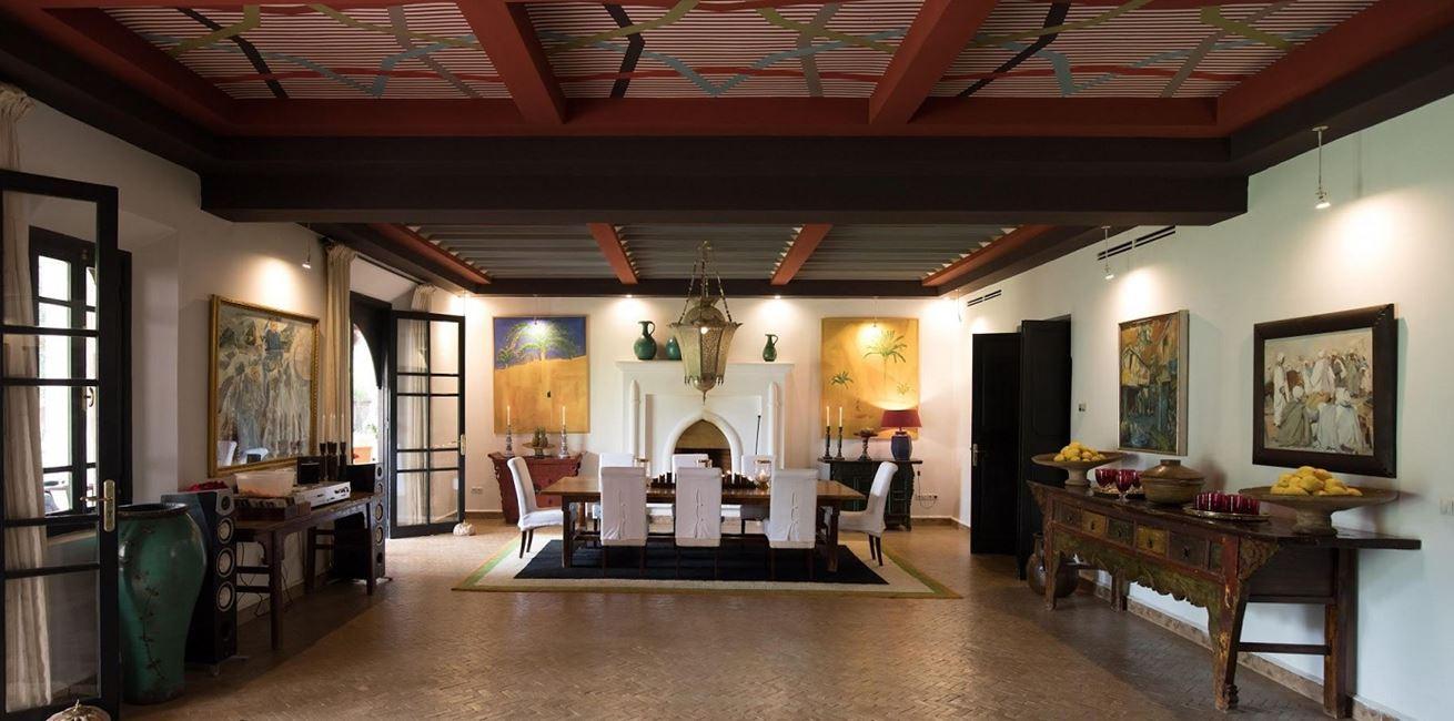 Villa Ezzahra 20Dinning Room