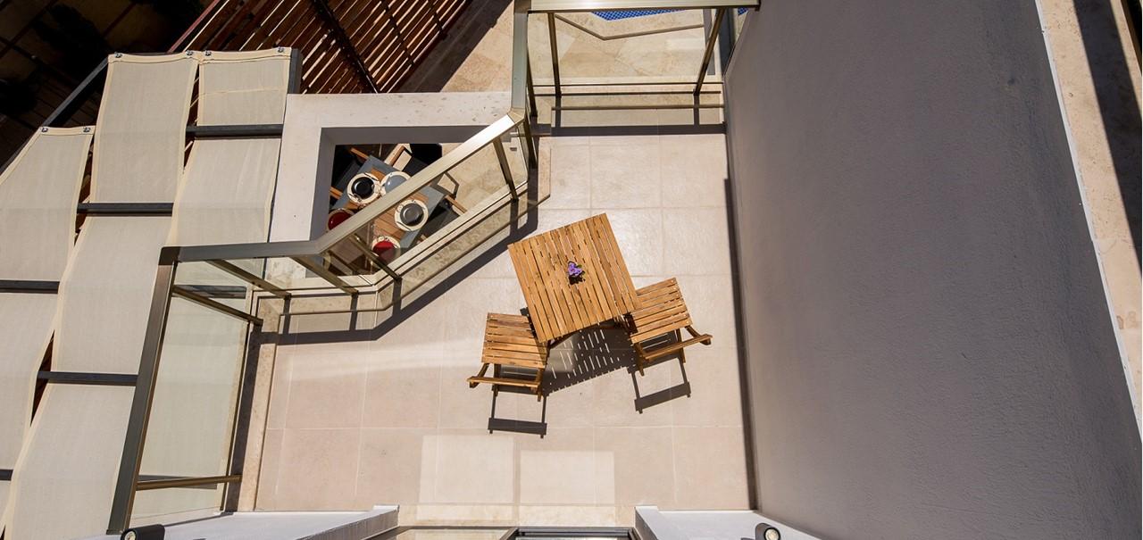 Top Floor Terrace View