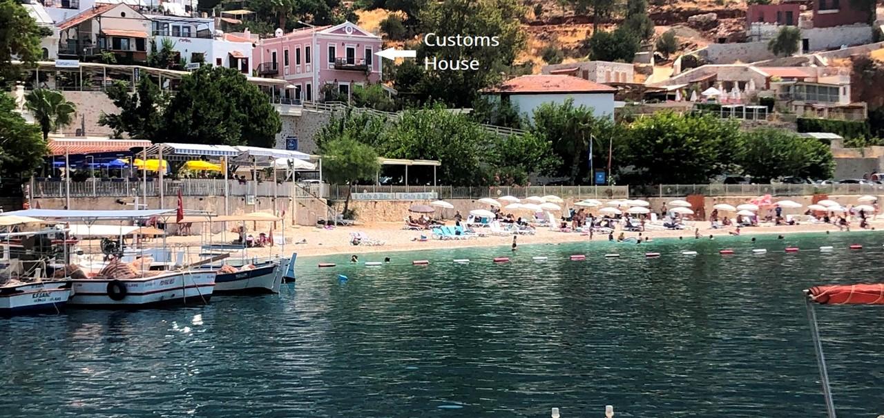 Customs House Beach
