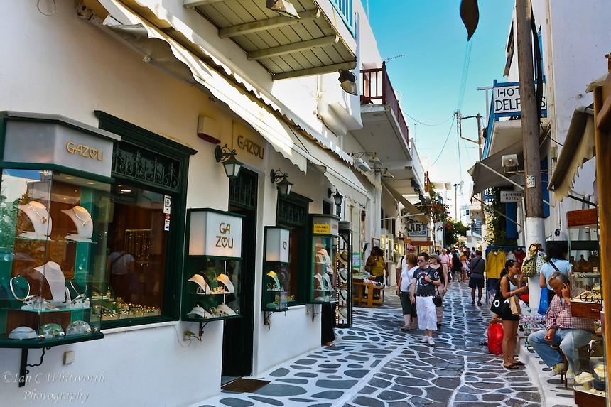Mykonos Shopping