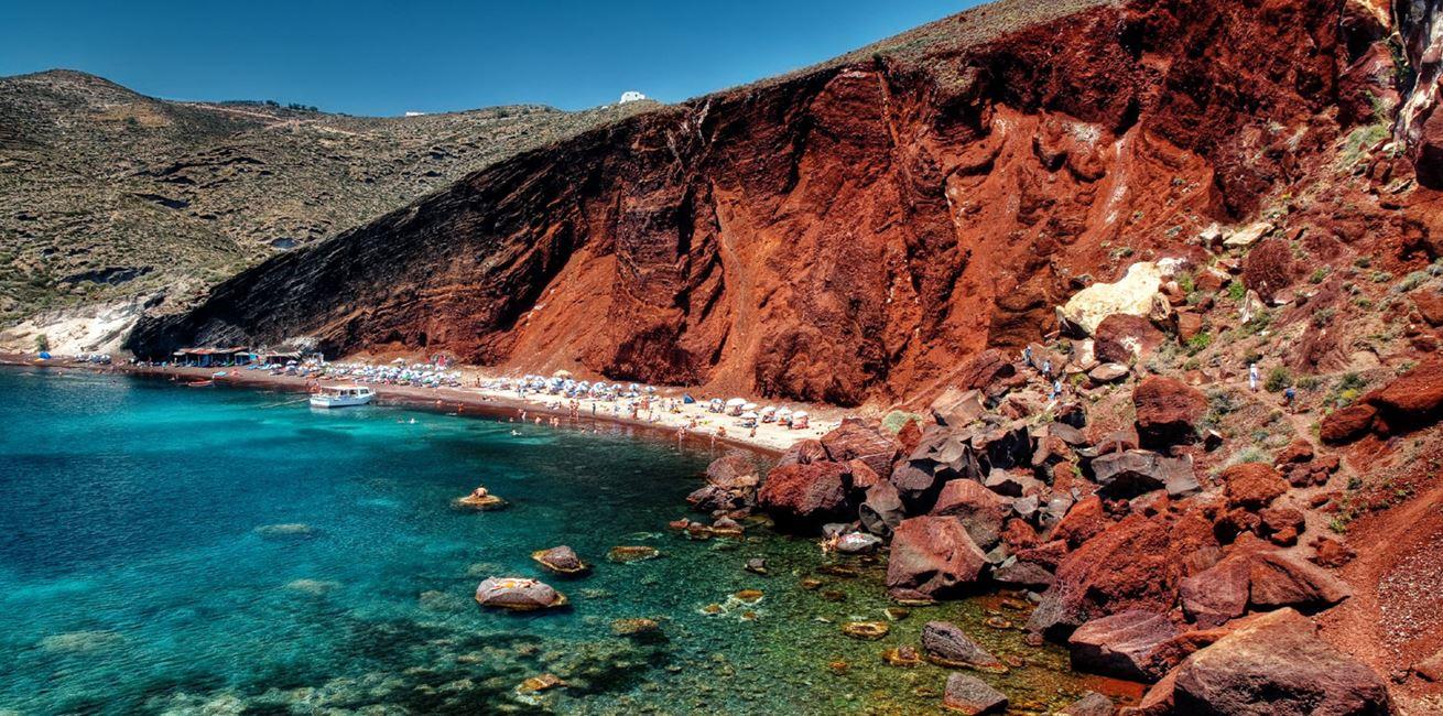 Red Beach Santorini