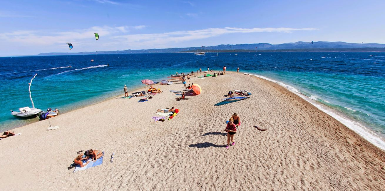 Croatia Zlatni Rat Windsurfing