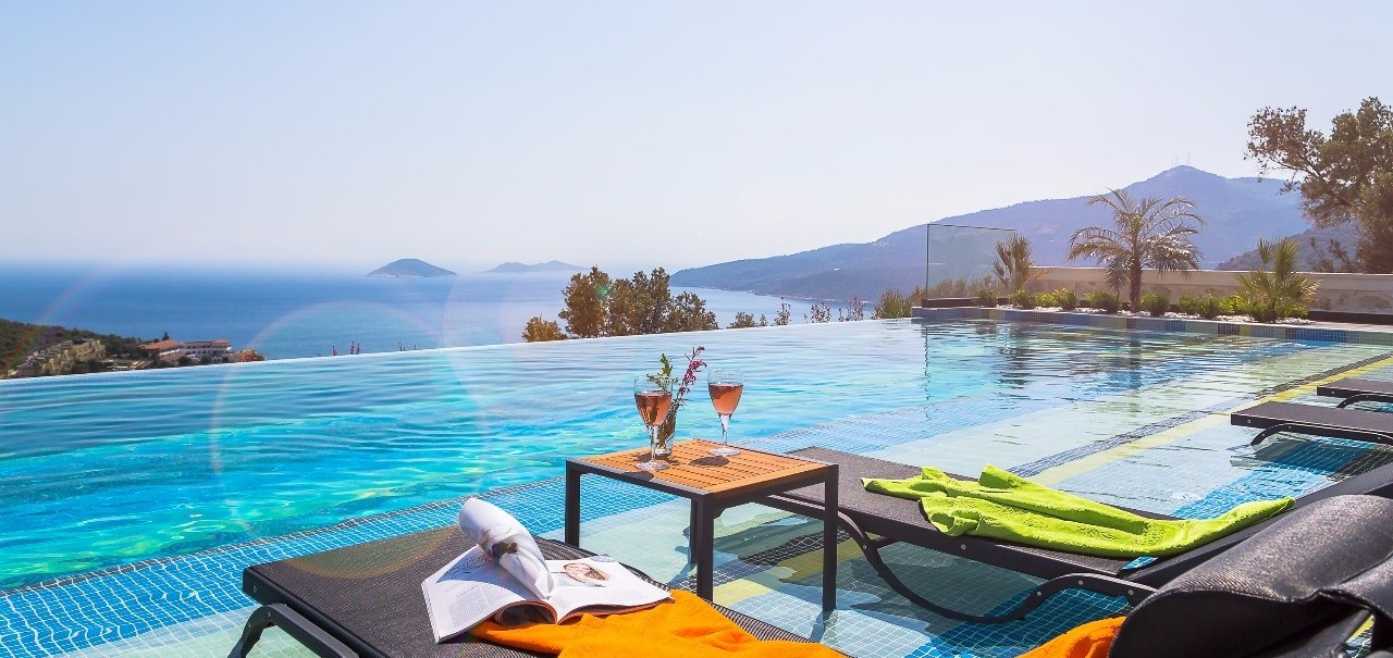 5 bedroom villa vogue in kalkan the turquoise collection for Villas vogue